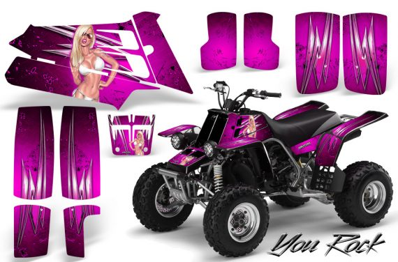 YAMAHA Banshee 350 CreatorX Graphics Kit You Rock Pink BB 570x376 - Yamaha Banshee 350 Graphics