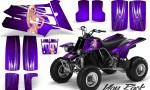 YAMAHA Banshee 350 CreatorX Graphics Kit You Rock Purple 150x90 - Yamaha Banshee 350 Graphics