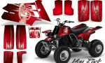 YAMAHA Banshee 350 CreatorX Graphics Kit You Rock Red BB 150x90 - Yamaha Banshee 350 Graphics