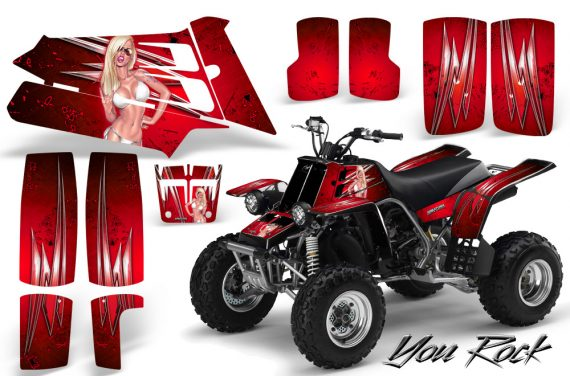 YAMAHA Banshee 350 CreatorX Graphics Kit You Rock Red BB 570x376 - Yamaha Banshee 350 Graphics