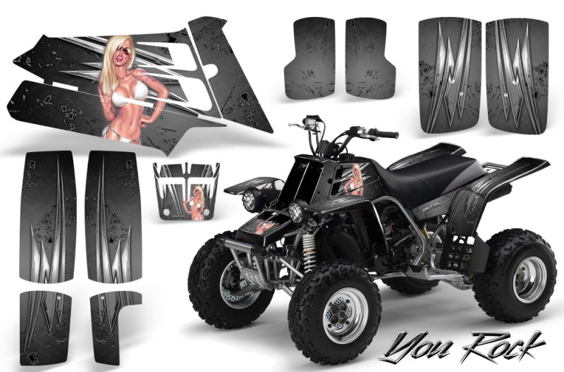 YAMAHA-Banshee-350-CreatorX-Graphics-Kit-You-Rock-Silver
