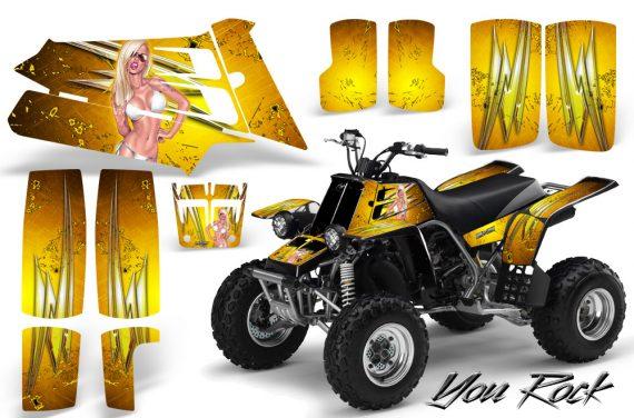 YAMAHA Banshee 350 CreatorX Graphics Kit You Rock Yellow BB 570x376 - Yamaha Banshee 350 Graphics
