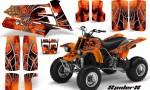 YAMAHA Banshee 350 SpiderX Orange 150x90 - Yamaha Banshee 350 Graphics