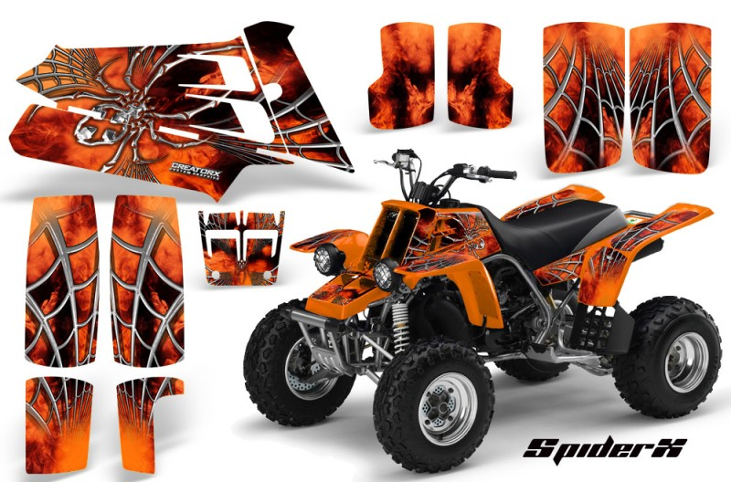 YAMAHA-Banshee-350-SpiderX-Orange
