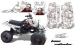 YAMAHA Banshee Full Bore AMR Graphic Kit BC W 150x90 - Yamaha Banshee 350 Graphics for Full Bore Plastics