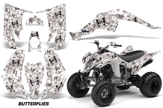 YAMAHA Raptor 350 Graphic Kit Butterflies KW 570x376 - Yamaha Raptor 350 Graphics
