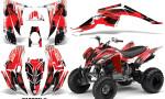 YAMAHA Raptor 350 Graphic Kit Carbon X 150x90 - Yamaha Raptor 350 Graphics