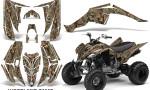 YAMAHA Raptor 350 Graphic Kit Woodland Camo KW 150x90 - Yamaha Raptor 350 Graphics