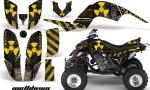 YAMAHA Raptor 660 AMR Graphic Kit MELTDOWN Y K 150x90 - Yamaha Raptor 660 Graphics