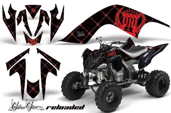 YAMAHA Raptor 700 AMR Graphics Reloaded Red BlackBG JPG 570x376 - Yamaha Raptor 700 2006-2012 Graphics