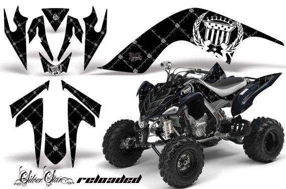 YAMAHA Raptor 700 AMR Graphics Reloaded White BlackBG JPG 570x376 - Yamaha Raptor 700 2006-2012 Graphics