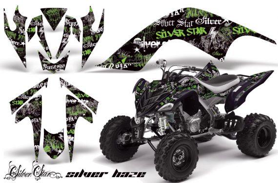 YAMAHA Raptor 700 AMR Graphics Silverhaze Green BlackBG JPG 570x376 - Yamaha Raptor 700 2006-2012 Graphics