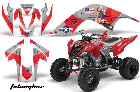 YAMAHA Raptor 700 AMR Graphics TBomber Red JPG 570x376 - Yamaha Raptor 700 2006-2012 Graphics
