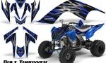 YAMAHA Raptor 700 CreatorX Graphics Kit Bolt Thrower Blue 150x90 - Yamaha Raptor 700 2006-2012 Graphics