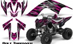 YAMAHA Raptor 700 CreatorX Graphics Kit Bolt Thrower Pink 150x90 - Yamaha Raptor 700 2006-2012 Graphics