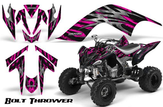 YAMAHA Raptor 700 CreatorX Graphics Kit Bolt Thrower Pink 570x376 - Yamaha Raptor 700 2006-2012 Graphics