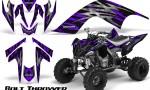 YAMAHA Raptor 700 CreatorX Graphics Kit Bolt Thrower Purple 150x90 - Yamaha Raptor 700 2006-2012 Graphics