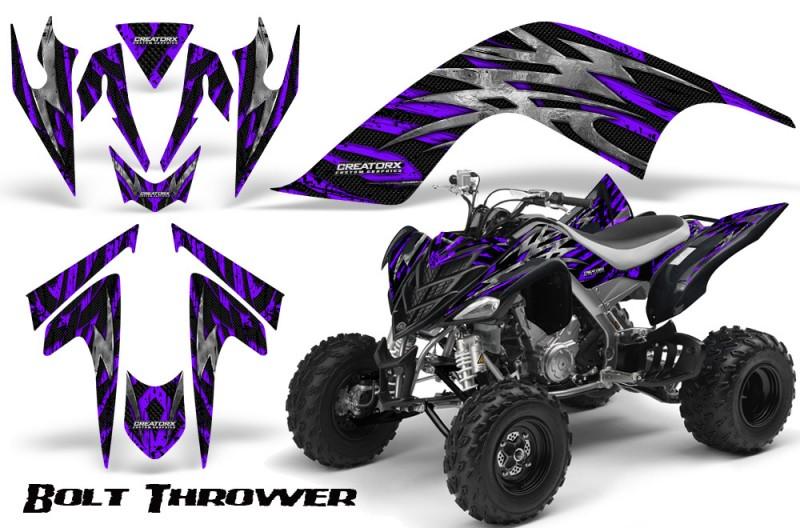 YAMAHA-Raptor-700-CreatorX-Graphics-Kit-Bolt-Thrower-Purple