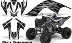 YAMAHA Raptor 700 CreatorX Graphics Kit Bolt Thrower Silver 150x90 - Yamaha Raptor 700 2006-2012 Graphics