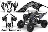 YAMAHA-Raptor-700-CreatorX-Graphics-Kit-Bolt-Thrower-Silver