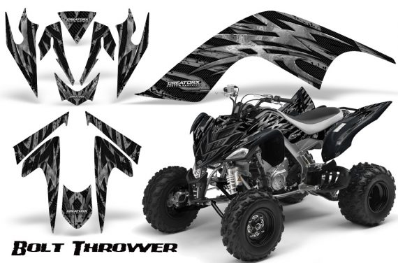YAMAHA Raptor 700 CreatorX Graphics Kit Bolt Thrower Silver BB 570x376 - Yamaha Raptor 700 2006-2012 Graphics