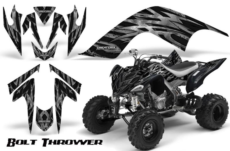 YAMAHA-Raptor-700-CreatorX-Graphics-Kit-Bolt-Thrower-Silver-BB