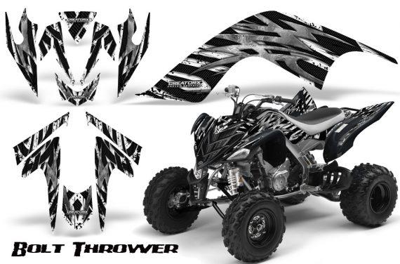 YAMAHA Raptor 700 CreatorX Graphics Kit Bolt Thrower White 570x376 - Yamaha Raptor 700 2006-2012 Graphics