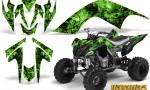 YAMAHA Raptor 700 CreatorX Graphics Kit Inferno Green 150x90 - Yamaha Raptor 700 2006-2012 Graphics