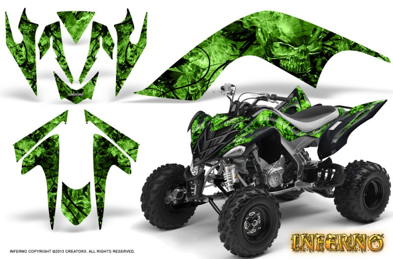 YAMAHA-Raptor-700-CreatorX-Graphics-Kit-Inferno-Green