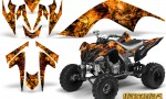 YAMAHA Raptor 700 CreatorX Graphics Kit Inferno Orange 150x90 - Yamaha Raptor 700 2006-2012 Graphics