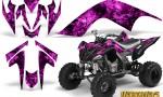 YAMAHA Raptor 700 CreatorX Graphics Kit Inferno Pink BB 150x90 - Yamaha Raptor 700 2006-2012 Graphics