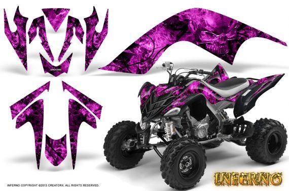 YAMAHA Raptor 700 CreatorX Graphics Kit Inferno Pink BB 570x376 - Yamaha Raptor 700 2006-2012 Graphics
