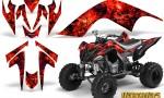 YAMAHA Raptor 700 CreatorX Graphics Kit Inferno Red BB 150x90 - Yamaha Raptor 700 2006-2012 Graphics