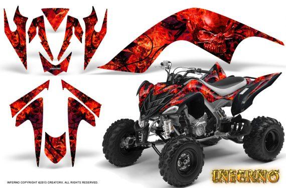 YAMAHA Raptor 700 CreatorX Graphics Kit Inferno Red BB 570x376 - Yamaha Raptor 700 2006-2012 Graphics