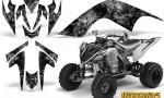 YAMAHA Raptor 700 CreatorX Graphics Kit Inferno Silver WB 150x90 - Yamaha Raptor 700 2006-2012 Graphics