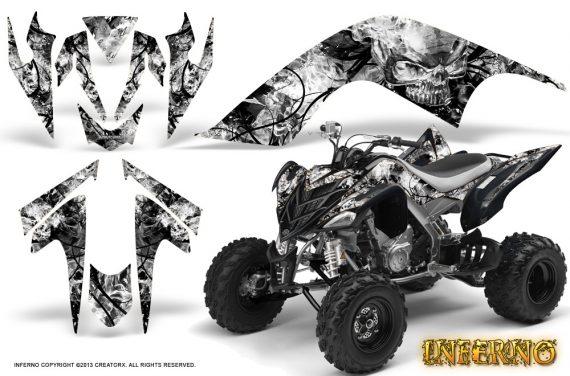 YAMAHA Raptor 700 CreatorX Graphics Kit Inferno White BB 570x376 - Yamaha Raptor 700 2006-2012 Graphics