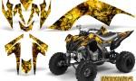 YAMAHA Raptor 700 CreatorX Graphics Kit Inferno Yellow BB 150x90 - Yamaha Raptor 700 2006-2012 Graphics