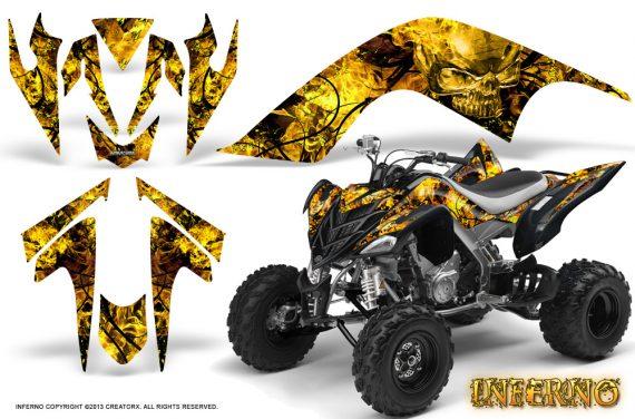 YAMAHA Raptor 700 CreatorX Graphics Kit Inferno Yellow BB 570x376 - Yamaha Raptor 700 2006-2012 Graphics
