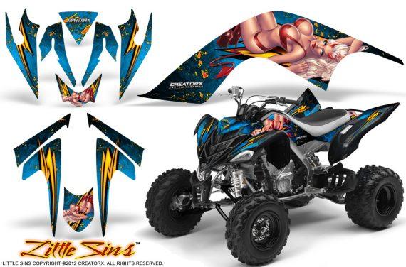 YAMAHA Raptor 700 CreatorX Graphics Kit Little Sins BlueIce BB 570x376 - Yamaha Raptor 700 2006-2012 Graphics