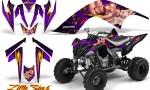 YAMAHA Raptor 700 CreatorX Graphics Kit Little Sins Purple 150x90 - Yamaha Raptor 700 2006-2012 Graphics
