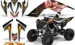 YAMAHA Raptor 700 CreatorX Graphics Kit Little Sins Silver BB 150x90 - Yamaha Raptor 700 2006-2012 Graphics