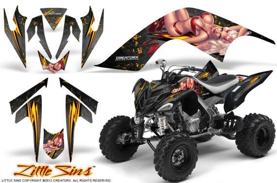 YAMAHA Raptor 700 CreatorX Graphics Kit Little Sins Silver BB 570x376 - Yamaha Raptor 700 2006-2012 Graphics