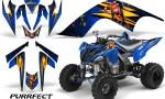YAMAHA Raptor 700 CreatorX Graphics Kit Purrfect Blue 150x90 - Yamaha Raptor 700 2006-2012 Graphics