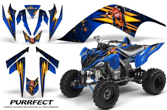 YAMAHA Raptor 700 CreatorX Graphics Kit Purrfect Blue 570x376 - Yamaha Raptor 700 2006-2012 Graphics