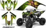YAMAHA Raptor 700 CreatorX Graphics Kit Purrfect Green 150x90 - Yamaha Raptor 700 2006-2012 Graphics