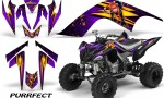 YAMAHA Raptor 700 CreatorX Graphics Kit Purrfect Purple 150x90 - Yamaha Raptor 700 2006-2012 Graphics