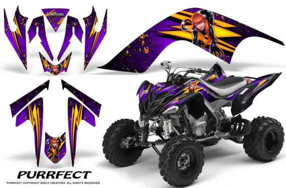 YAMAHA Raptor 700 CreatorX Graphics Kit Purrfect Purple 570x376 - Yamaha Raptor 700 2006-2012 Graphics