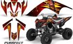 YAMAHA Raptor 700 CreatorX Graphics Kit Purrfect Red BB 150x90 - Yamaha Raptor 700 2006-2012 Graphics