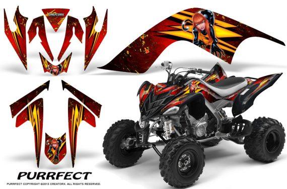 YAMAHA Raptor 700 CreatorX Graphics Kit Purrfect Red BB 570x376 - Yamaha Raptor 700 2006-2012 Graphics