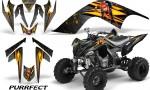 YAMAHA Raptor 700 CreatorX Graphics Kit Purrfect Silver BB 150x90 - Yamaha Raptor 700 2006-2012 Graphics